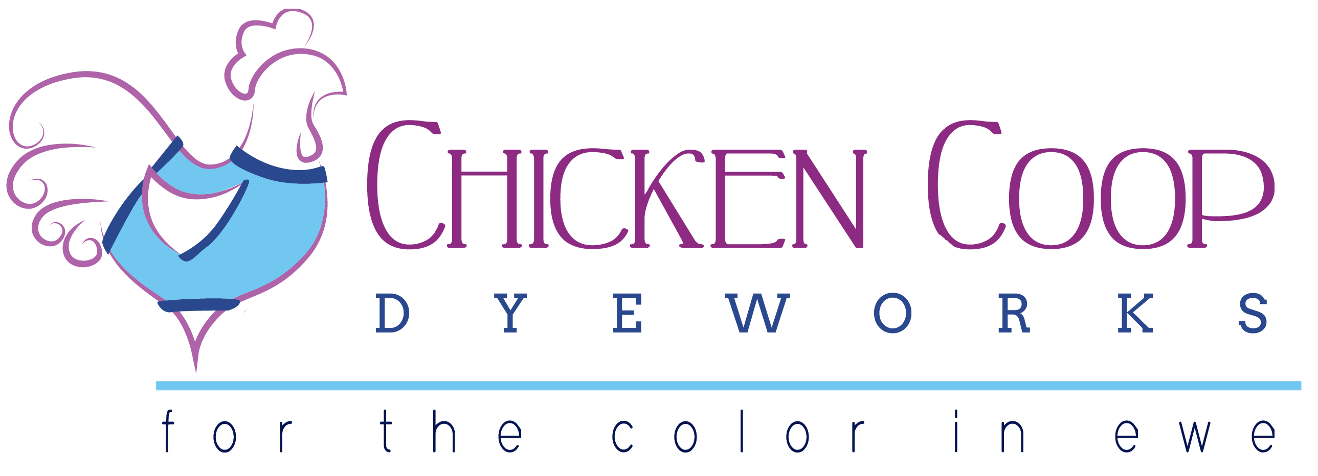 Chicken Coop Dyeworks - For the Color in Ewe